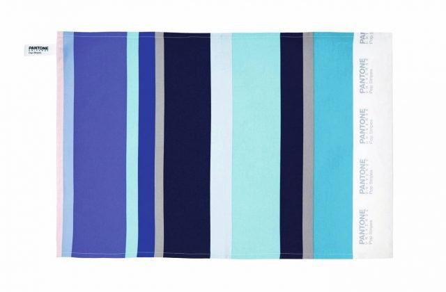 asciugapiatti righe blu