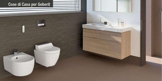 Novità Geberit: il WC-bidet AquaClean Tuma. Anche in versione per vasi esistenti