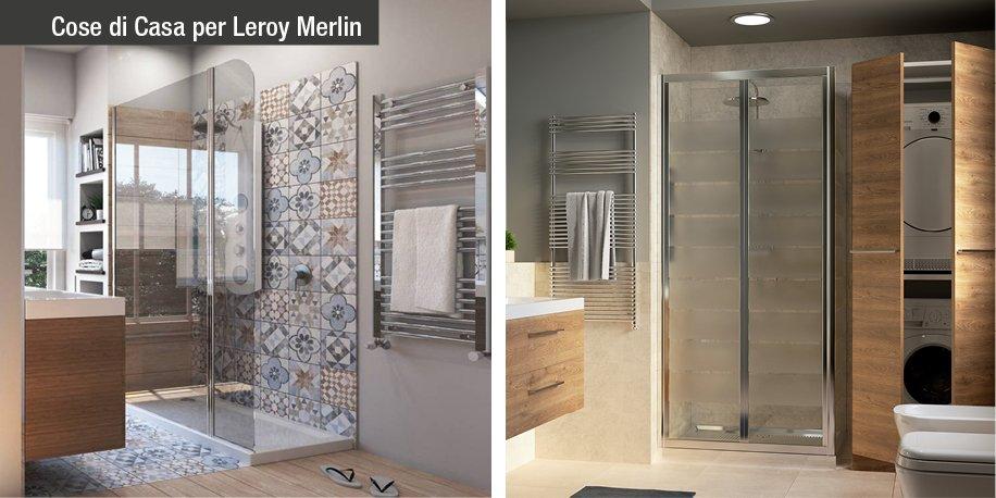 Da vasca a doccia un bagno nuovo su misura cose di casa - Mobile porta lavatrice e asciugatrice leroy merlin ...