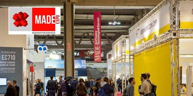 Made Expo 2017: apre oggi la fiera dell'Architettura e delle Costruzioni