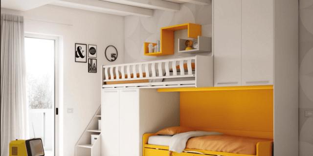 Scegliere la cameretta: 14 soluzioni per tutti gli spazi ...
