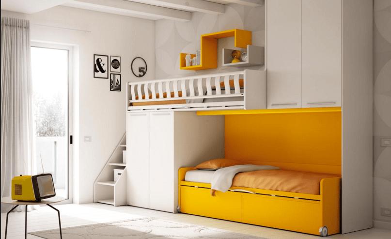 Scegliere la cameretta 14 soluzioni per tutti gli spazi for Arredare cameretta