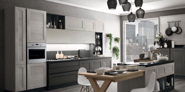 Cucine Moderne » Cucine Moderne Lineari 4 Metri - Ispirazioni Design dell'architettura Moderna ...