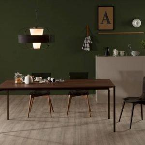 Evo di Tonin Casa è il nuovo tavolo caratterizzato da una semplice struttura in metallo verniciato in tre varianti di colore; il piano è disponibile in legno o in laminato. Un  modello essenziale e elegante che riprende lo stile nordico. www.tonincasa.it