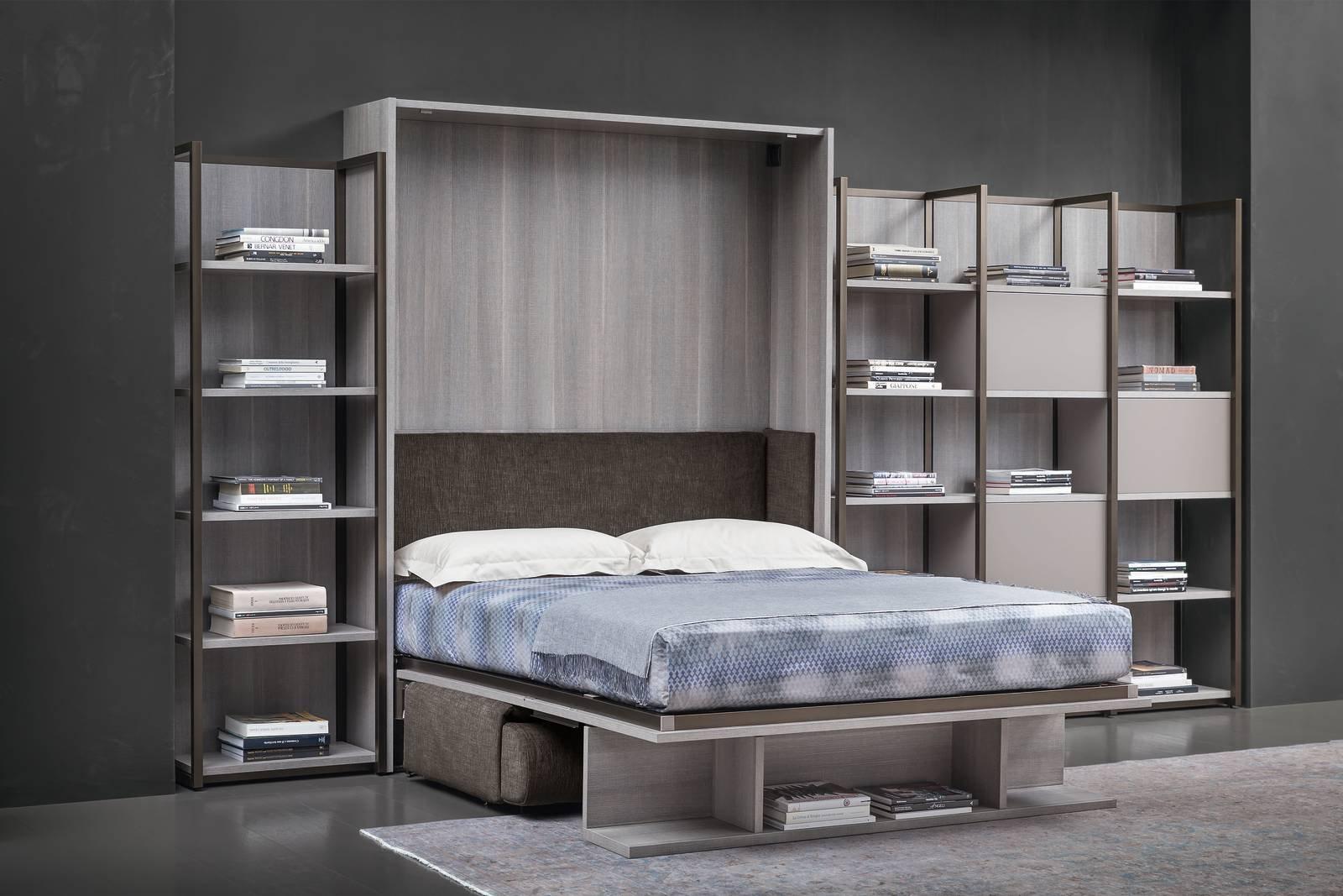 Letto incassato nellarmadio ikea design casa creativa e for Mobile letto ikea