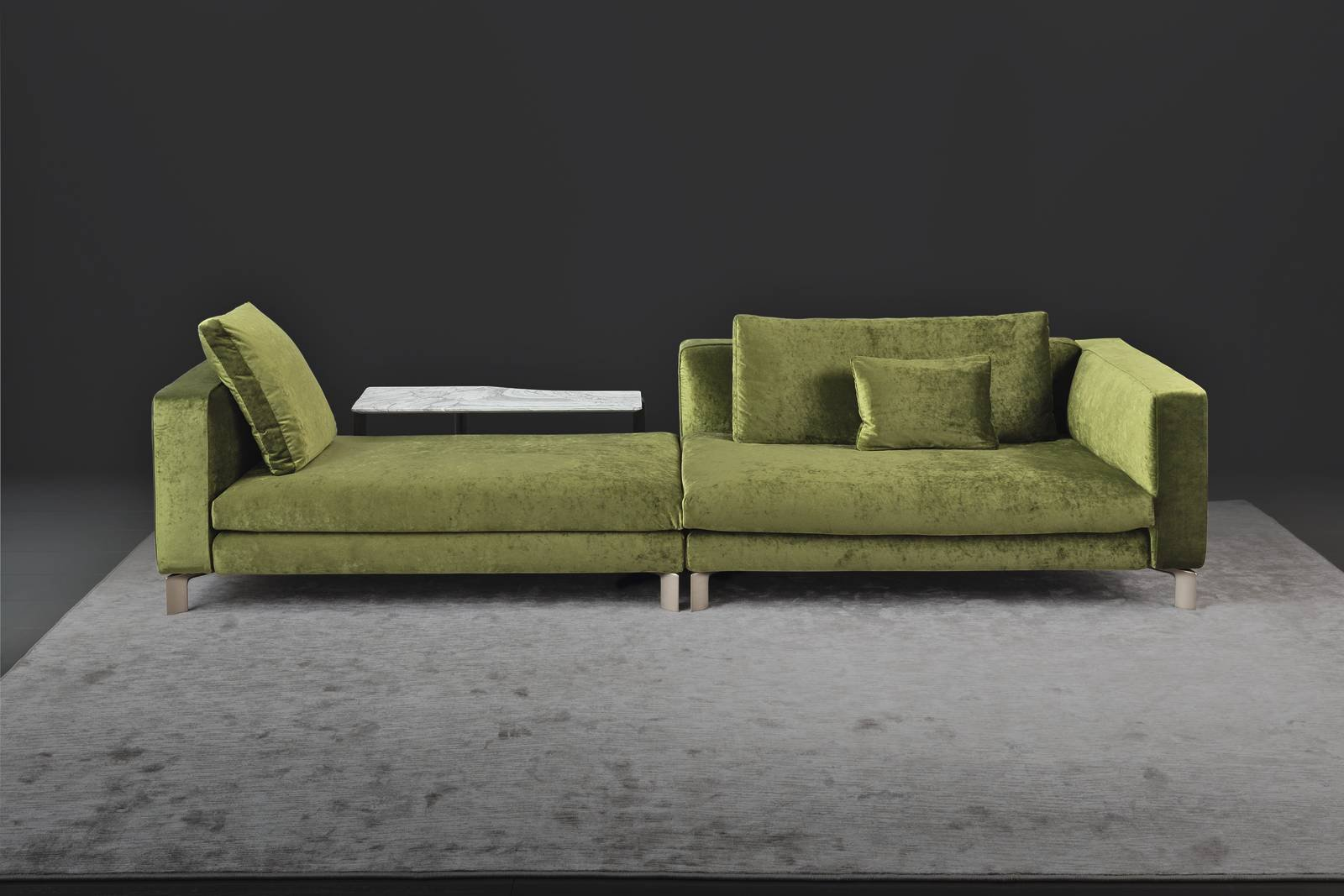 salone del mobile 2017: divani e divanetti - cose di casa - Ultimo Disegno Di Divano Ad Angolo