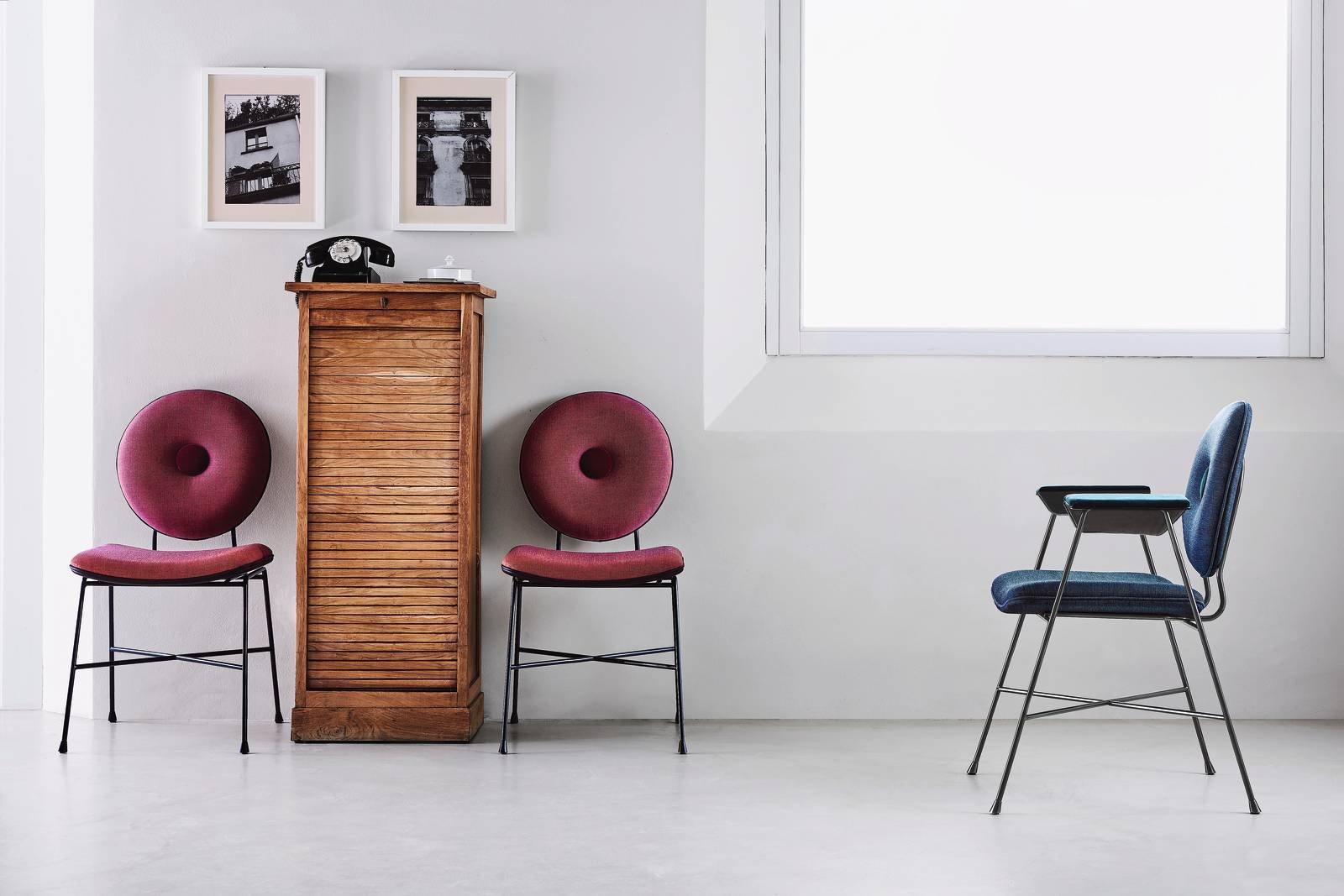 Le nuove sedie e poltroncine al salone del mobile 2017 for Sedie design velluto