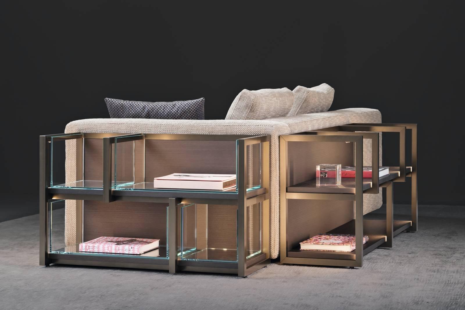 Salone del mobile 2017 contenitori e librerie per il - Libreria dietro divano ...