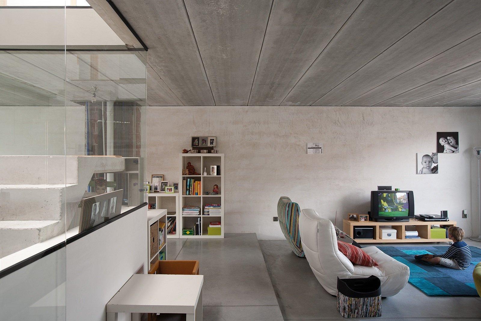 I pavimenti in gres porcellanato con effetto cemento hanno un