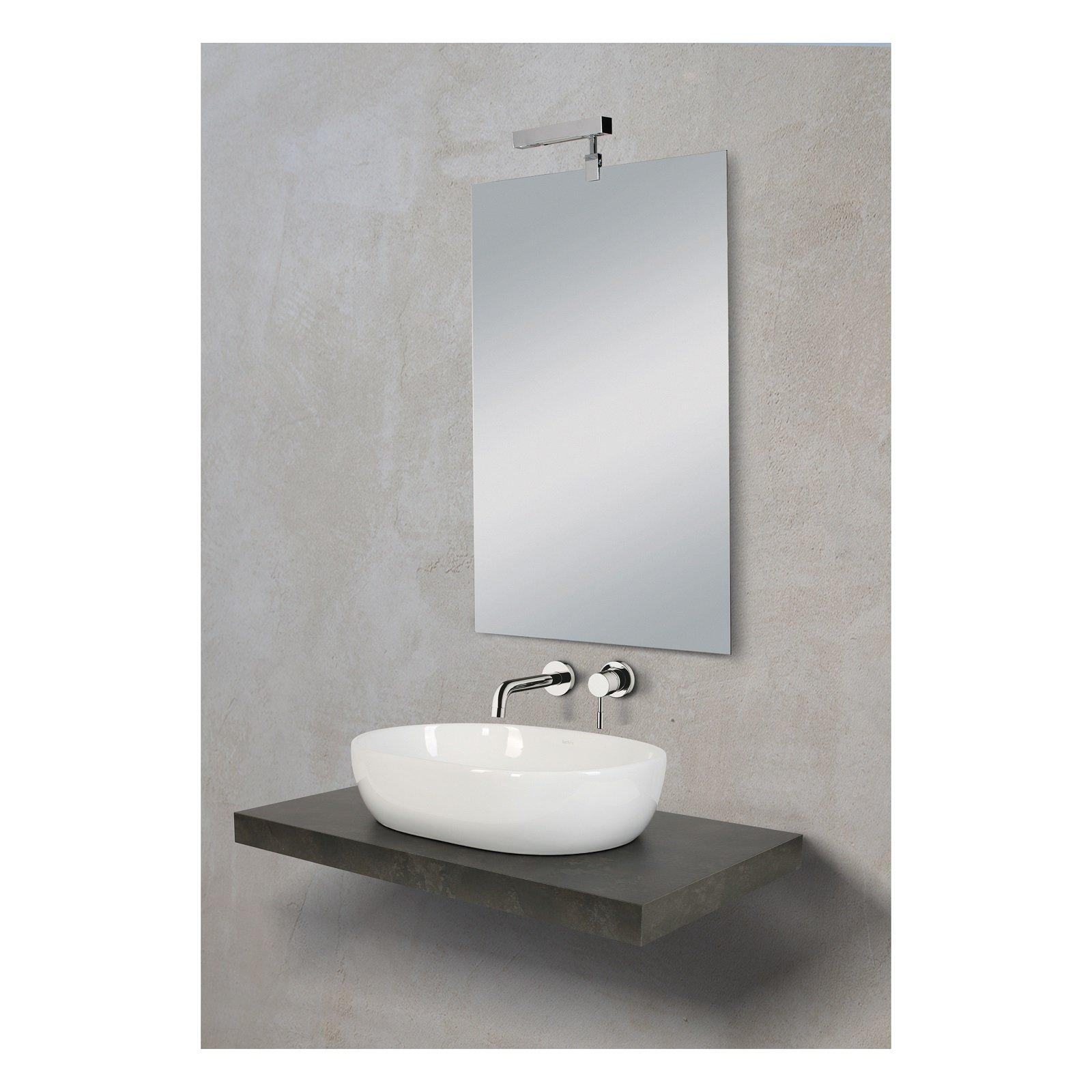 Fanno tendenza i moderni lavabi d appoggio che donano for Le roy merlin lavabo