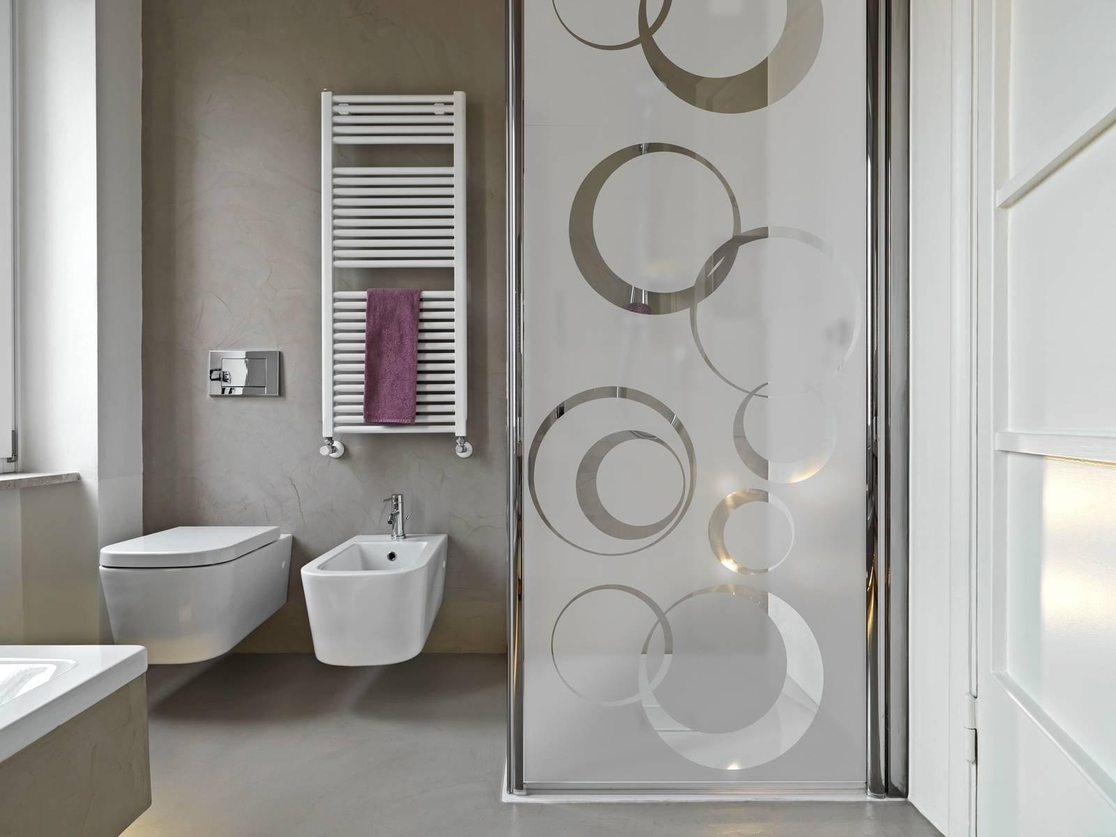 Sticker e adesivi per cambiare look alla doccia alla for Decorazioni adesive per bagno