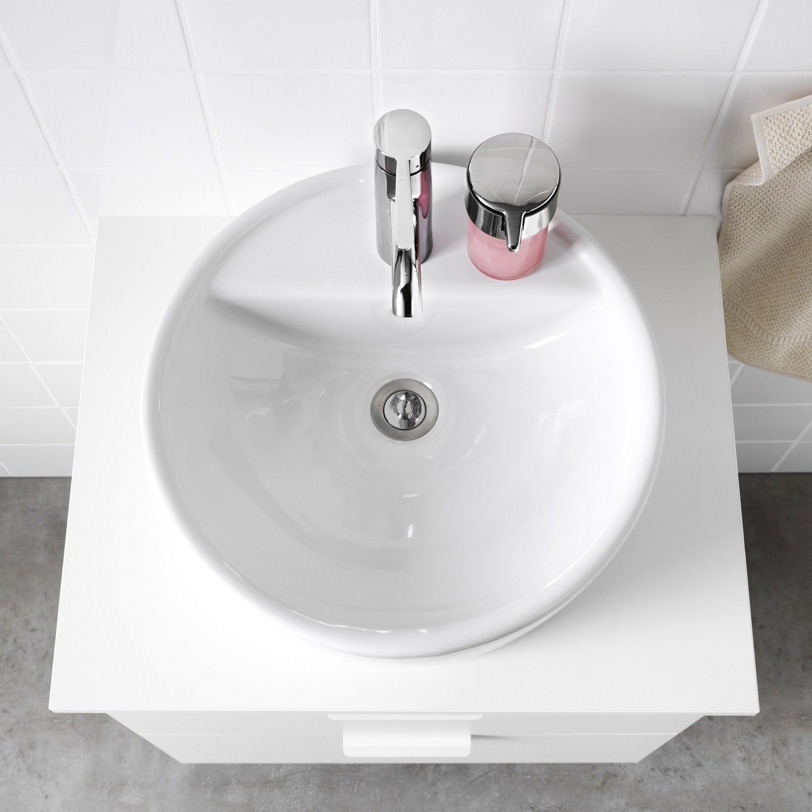 3 ikea toernviken lavabo da appoggio cose di casa for Ikea rubinetti bagno