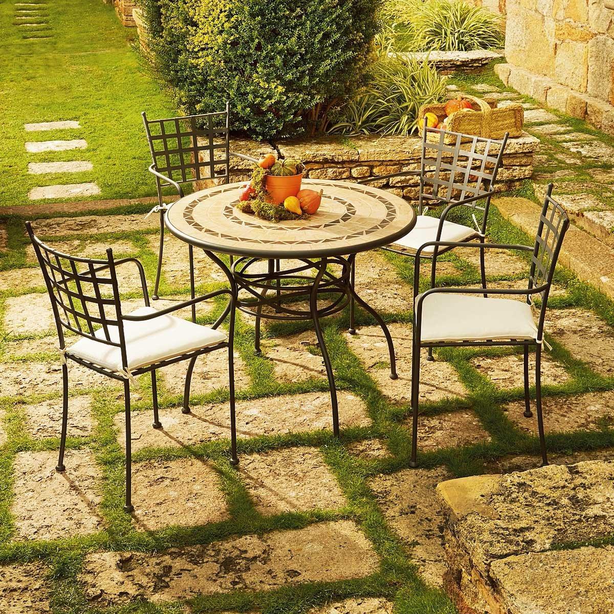 Emu Arredo Giardino - tavolo da giardino emu legno e ferro posot ...