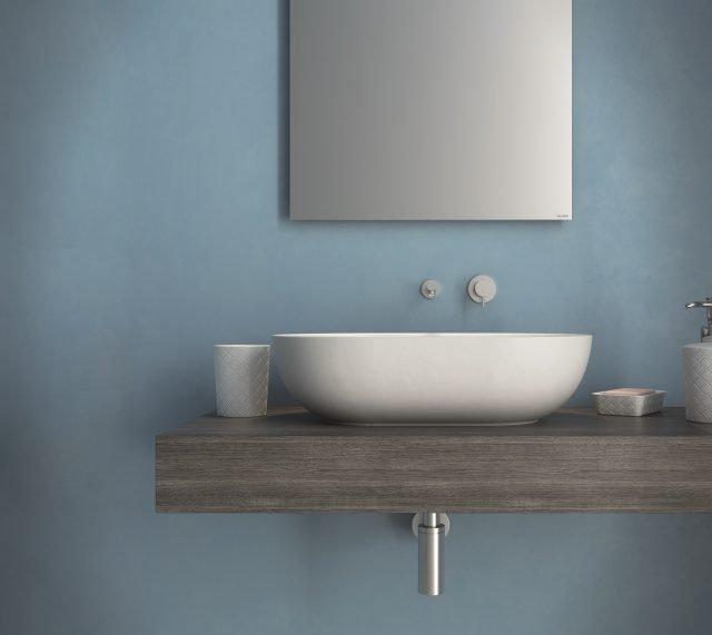 Fanno tendenza i moderni lavabi d appoggio che donano for Globo bagni