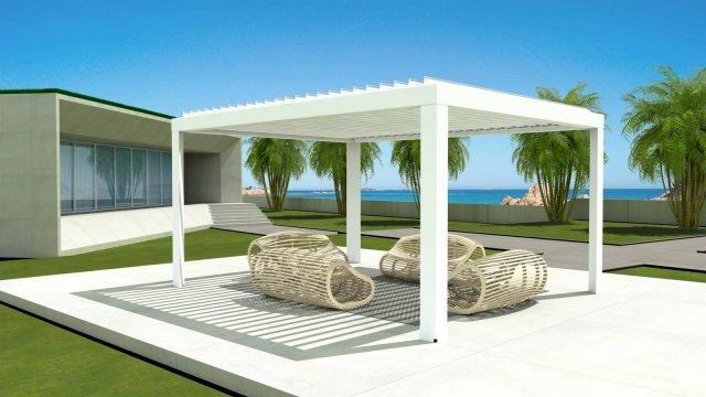 Pergole bioclimatiche > Stanze all'aria aperta per un comfort 365 giorni