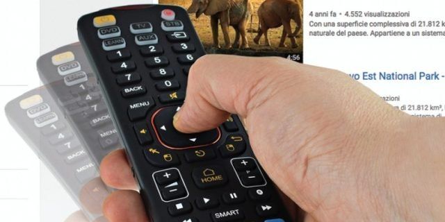 Smart TV: ecco il telecomando tutto in uno