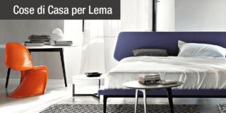 Comfort e design per letti, comodini e cassettiere