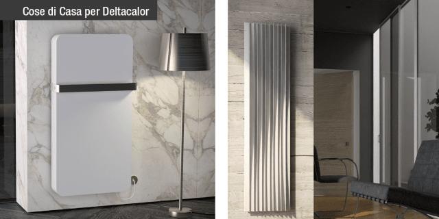 Deltacalor presenta in anteprima i nuovi radiatori Valet e Harp