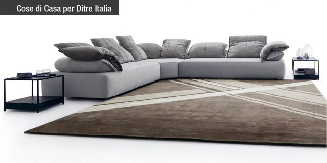 Ditre Italia: il divano Flick-Flack, contemporaneo e superaccogliente