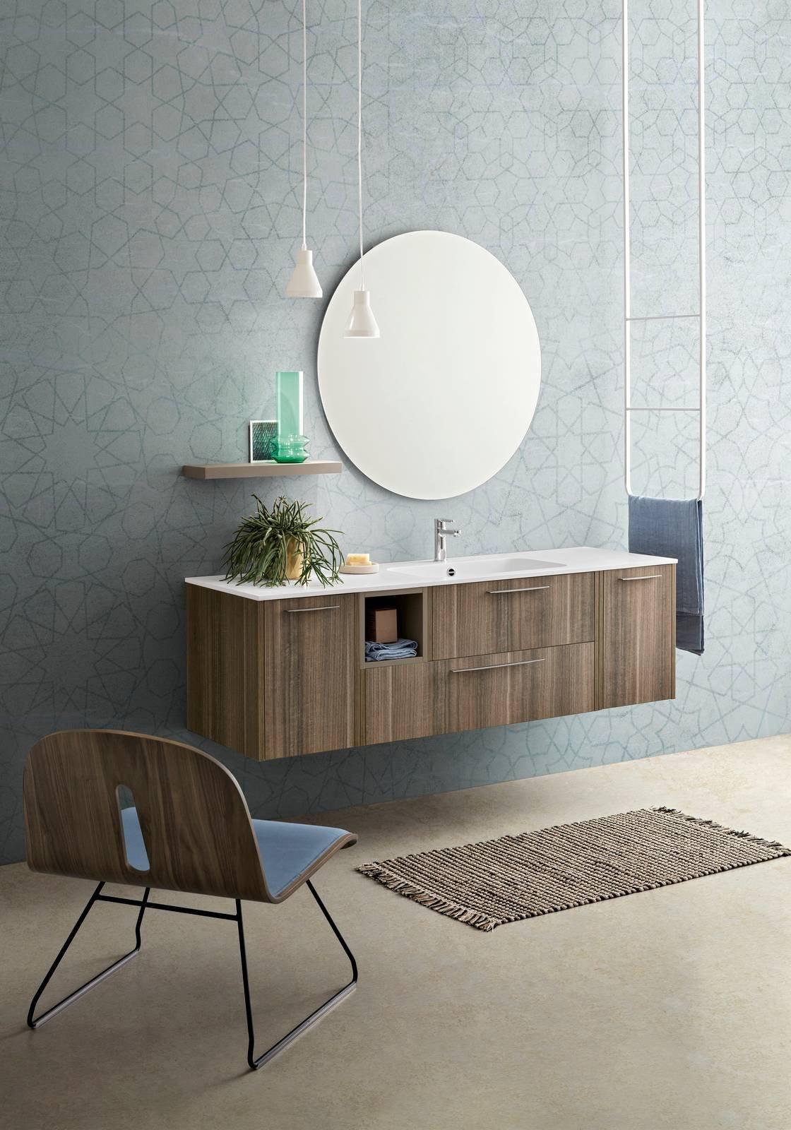 Novit per l arredobagno cerasa presenta velvet cose di casa - Specchi retroilluminati per bagno ...