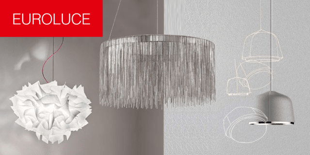 Da Euroluce 2017 una selezione di oltre 40 nuove lampade