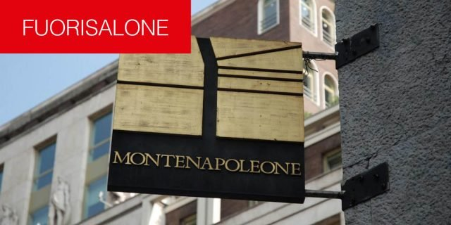 MonteNapoleone District: per il Fuorisalone 2017 un'altra new entry