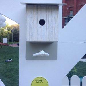 House of Birds: Metropolitan Birdbox, design Industrial Facility-Sam Hecht