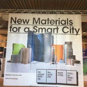 Mostra-evento New Materials for a smart city