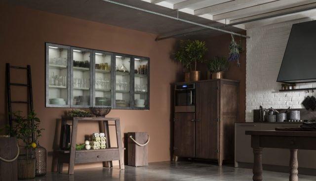 Una cucina contemporanea dal sapore artigianale cose di casa - Cappa cucina laterale ...