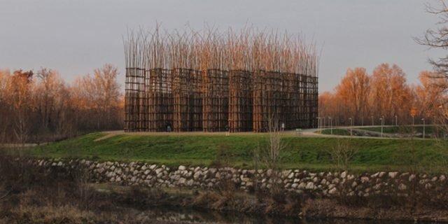 Cattedrale Vegetale, un'opera di Giuliano Mauri. Art in Nature
