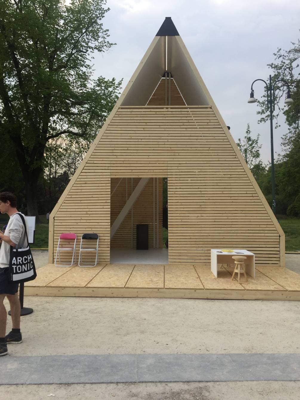 Inhabits moduli abitativi sostenibili al parco sempione for Case estremamente economiche