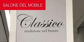 Salone del Mobile. Classico, tradizione nel futuro. Foto della diretta