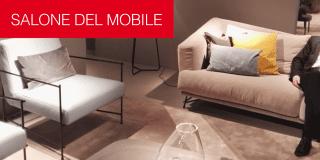 Ditre Italia al Salone del Mobile arreda tutto il soggiorno. Foto della diretta