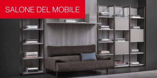 Flou al Salone del Mobile 2017: eleganza e funzionalità. Anche con soluzioni salvaspazio