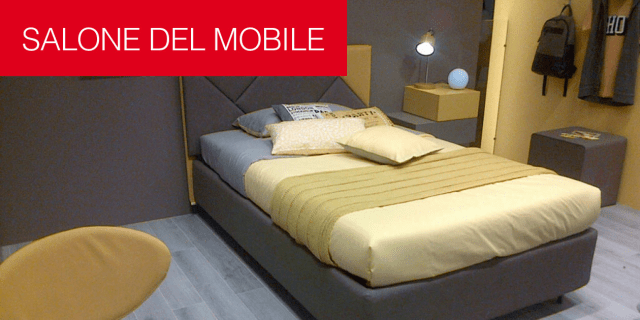 Moretti Compact presenta al Salone del Mobile camere per i ragazzi sempre più evolute. Anche per giovani adulti.