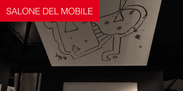 Caimi Brevetti a iSaloni: come quadri d'autore i pannelli fonoassorbenti con i disegni di Gillo Dorfles