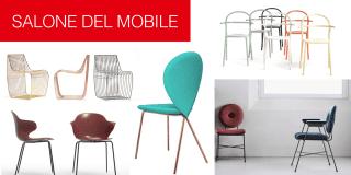 Le nuove sedie e poltroncine al Salone del Mobile 2017