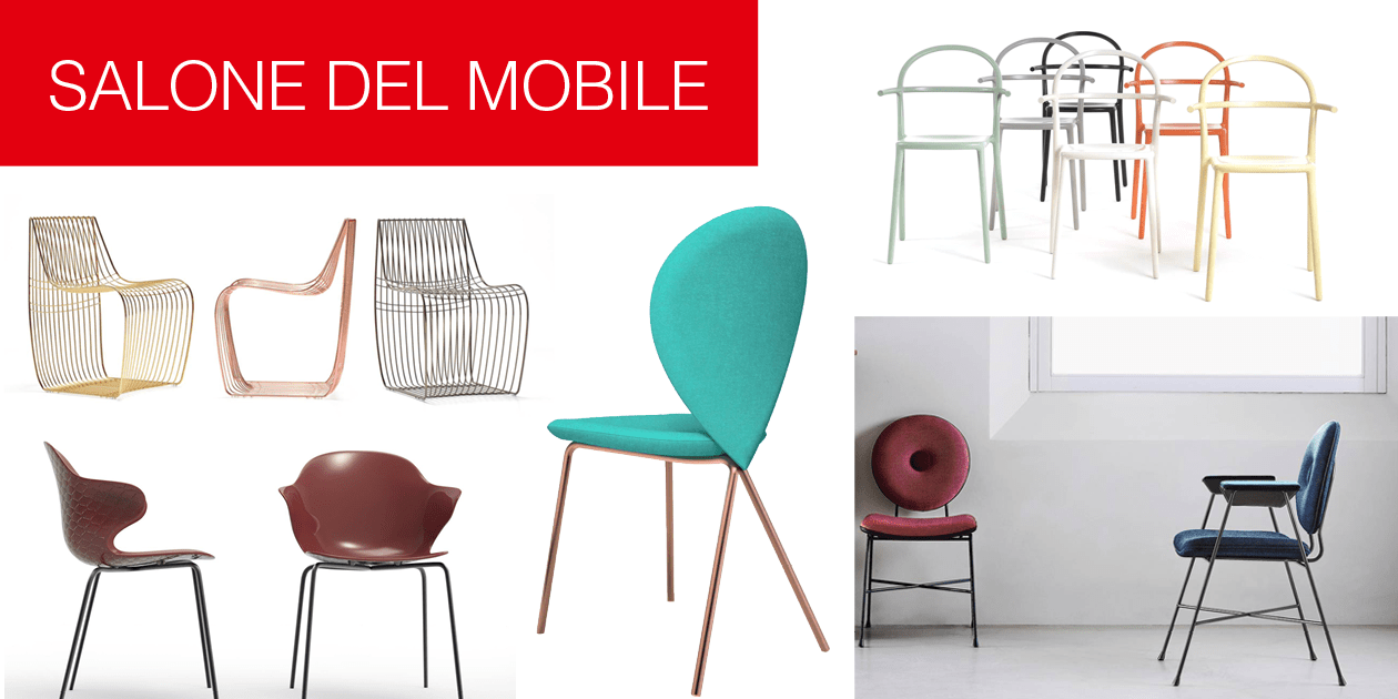 Le nuove sedie e poltroncine al salone del mobile 2017 for Poltroncine tavolo da pranzo
