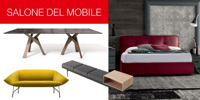 Salone del Mobile 2017: più di 130 arredi da vedere alla fiera di Milano