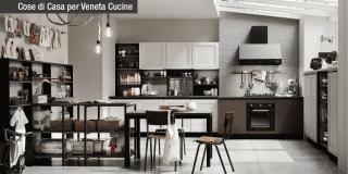 Cucine dal carattere deciso per atmosfere industrial style