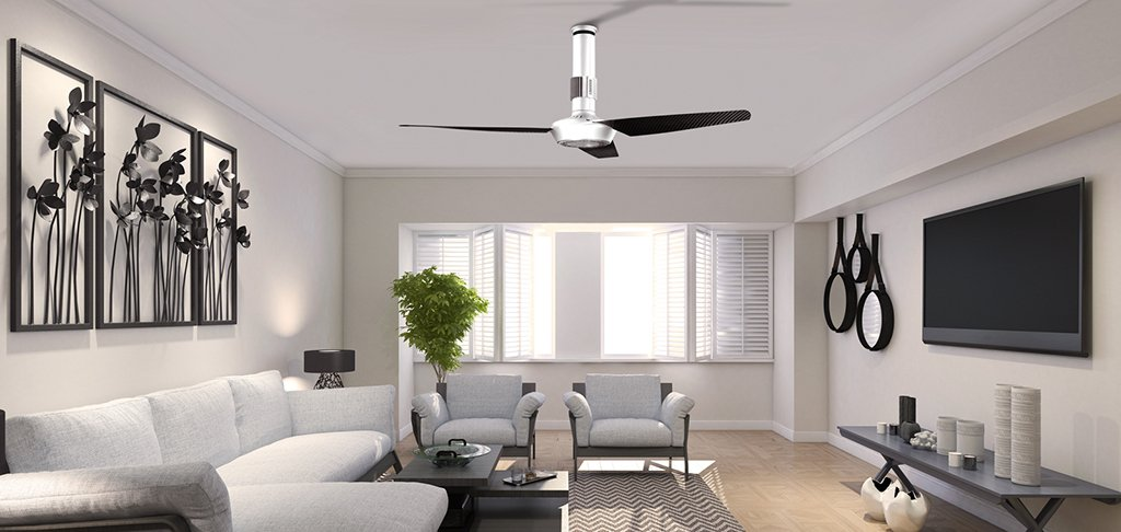 Ventilatori da soffitto reversibili design e tecnologia - Ventilatori da soffitto vortice ...