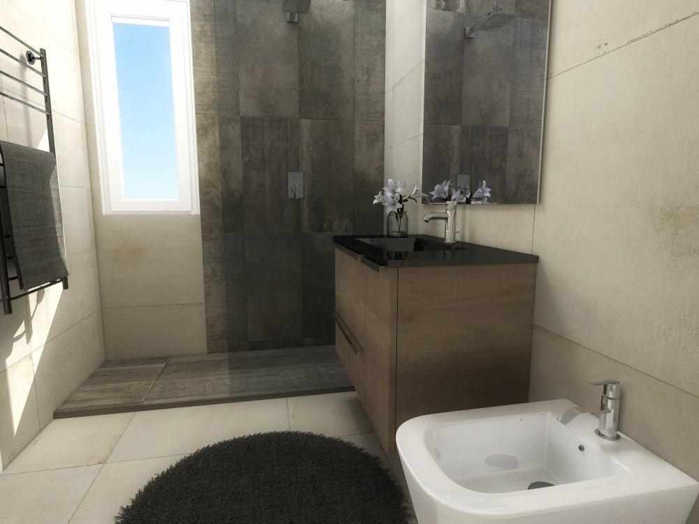 Progetto in 3d ricavare la seconda camera e ingrandire il bagno cose di casa - Progetto bagno 3d gratis ...