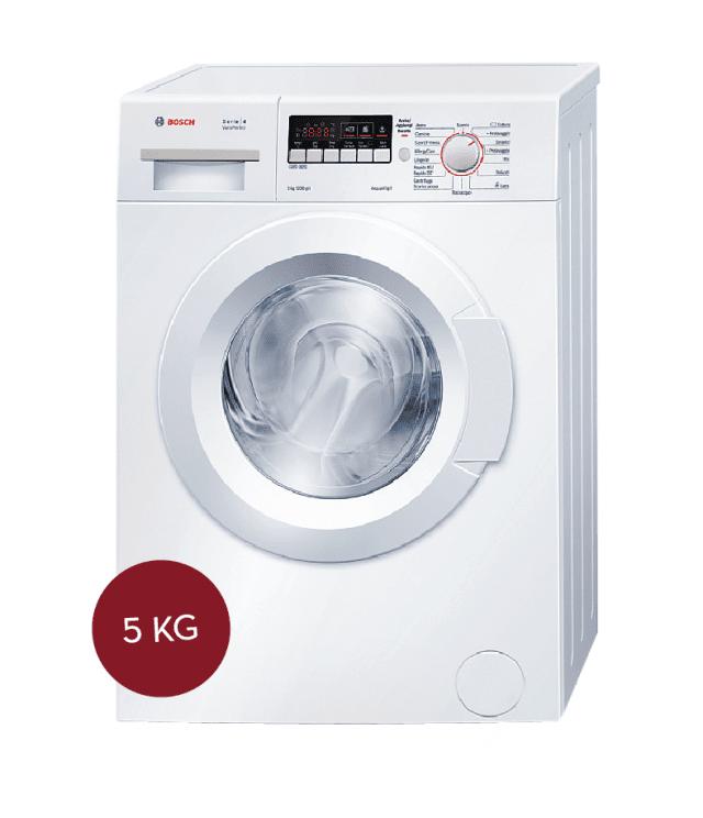 Il sistema VarioSpeed permette di scegliere se risparmiare tempo fino al 55% o energia elettrica fino al 20%.La lavatrice WLG24225IT Serie 4 di Bosch ha programma AllergyCare, cicli rapidi da 15 e da 30 minuti e sensore di riconoscimento automatico del carico.