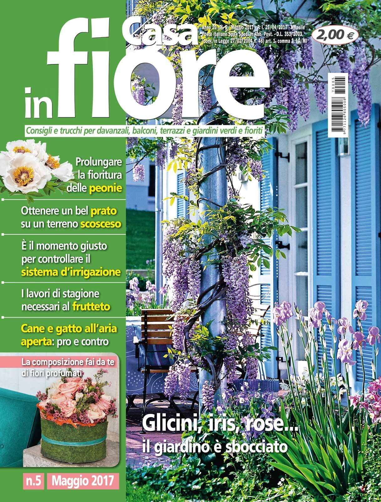 In edicola dal 25 aprile casa in fiore di maggio cose di for Casa maggio