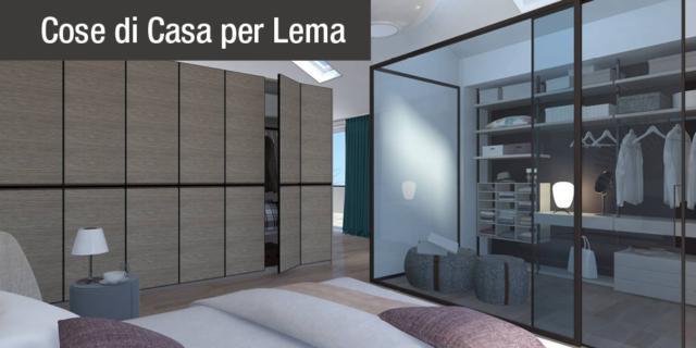 Progetto in 3D: dividere con l\'armadio soggiorno e camera ...