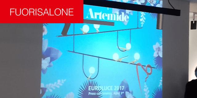 Fuorisalone 2017. Artemide presenta le novità: tecnologia e tanta poesia