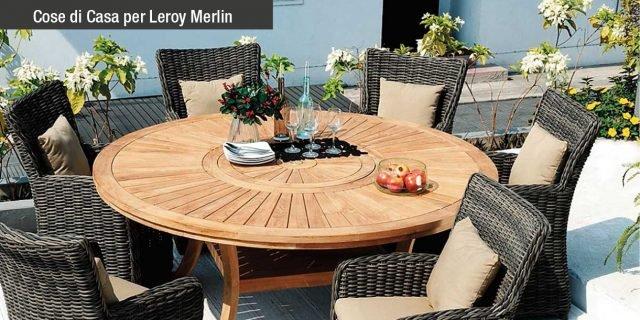 Giardino aiuole e green arredamento cose di casa - Leroy merlin mobili giardino ...