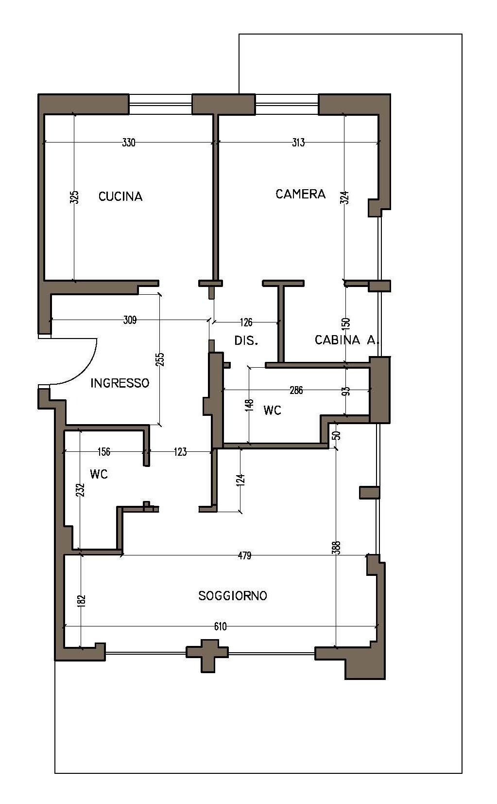 Progetto in 3d ricavare la seconda camera e ingrandire il - Progetto camera ...