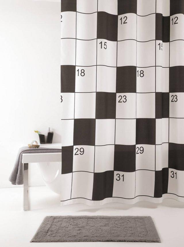 Tende doccia per un bagno easy e molto carino cose di casa - Tende per doccia in tessuto ...