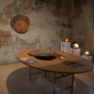 Tavolo On-set Table di Falegnameria Ragone